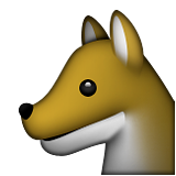 Wolf Face on Apple iOS 9.1