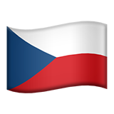 Czechia on Apple iOS 8.3