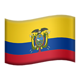 Ecuador on Apple iOS 8.3