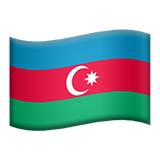 Azerbaijan on Apple iOS 10.2