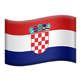 Croatia on Apple iOS 10.2