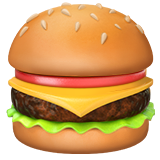 Hamburger on Apple iOS 10.2