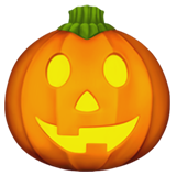 Jack-O-Lantern on Apple iOS 10.2