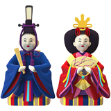 Japanese Dolls on Apple iOS 10.2