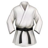 Martial Arts Uniform on Apple iOS 10.2