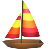 Sailboat on Apple iOS 10.2