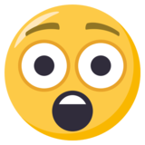 Astonished Face on EmojiOne 3.1