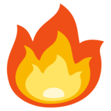 Fire on EmojiOne 3.1