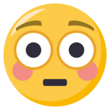 Flushed Face on EmojiOne 3.1