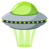 Flying Saucer on EmojiOne 3.1