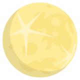 Full Moon on EmojiOne 3.1