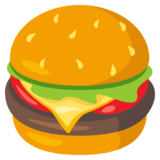 Hamburger on EmojiOne 3.1