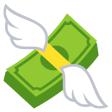 Money With Wings on EmojiOne 3.1