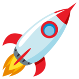 Rocket on EmojiOne 3.1