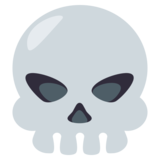 Skull on EmojiOne 3.1