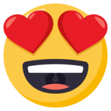 Smiling Face With Heart-Eyes on EmojiOne 3.1