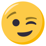 Winking Face on EmojiOne 3.1