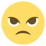 Angry Face on EmojiOne 2.0