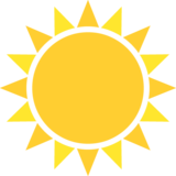 Sun on EmojiOne 2.0