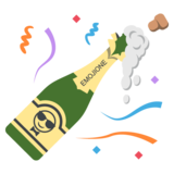 Bottle With Popping Cork on EmojiOne 2.0