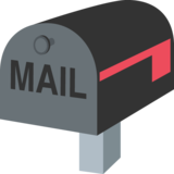 Closed Mailbox With Lowered Flag on EmojiOne 2.0