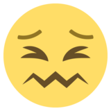 Confounded Face on EmojiOne 2.0