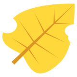 Fallen Leaf on EmojiOne 2.0