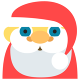 Santa Claus on EmojiOne 2.0