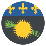 Guadeloupe on EmojiOne 2.0