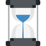 Hourglass With Flowing Sand on EmojiOne 2.0