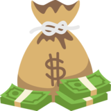Money Bag on EmojiOne 2.0