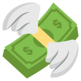 Money With Wings on EmojiOne 2.0