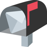Open Mailbox With Raised Flag on EmojiOne 2.0