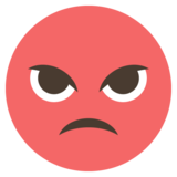 Pouting Face on EmojiOne 2.0