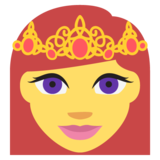 Princess on EmojiOne 2.0