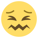 Confounded Face on EmojiOne 2.1