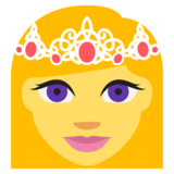 Princess on EmojiOne 2.1