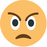 Angry Face on EmojiOne 1.0