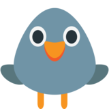 Bird on EmojiOne 1.0