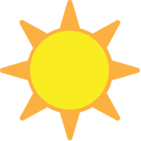 Sun on EmojiOne 1.0