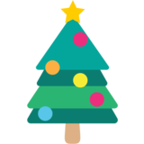 Christmas Tree on EmojiOne 1.0