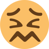 Confounded Face on EmojiOne 1.0