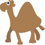 Camel on EmojiOne 1.0