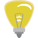 Light Bulb on EmojiOne 1.0