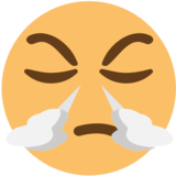 Face With Steam From Nose on EmojiOne 1.0