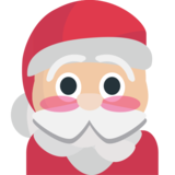 Santa Claus on EmojiOne 1.0