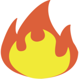 Fire on EmojiOne 1.0