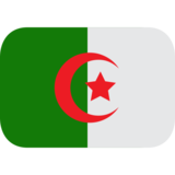 Algeria on EmojiOne 1.0