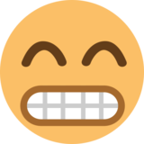 Grinning Face With Smiling Eyes on EmojiOne 1.0