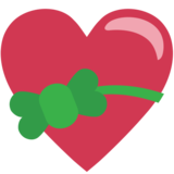 Heart With Ribbon on EmojiOne 1.0